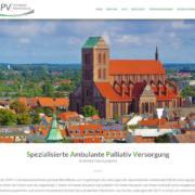 Webdesign in Wismar. Die Internetseite der SAPV ordwest Mecklenburg.