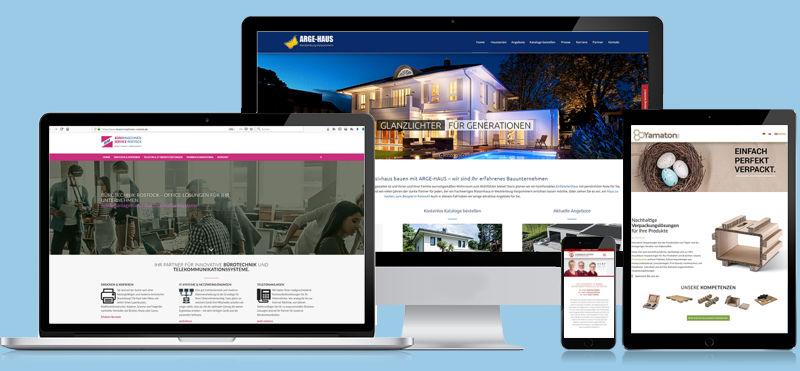 bm & partner ist Ist Ihre Werbeagentur in Rostock. Webdesign, Grafik und Print.