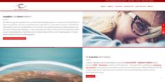 Neues Webdesign für die Augenlaser Praxis in Rostock.