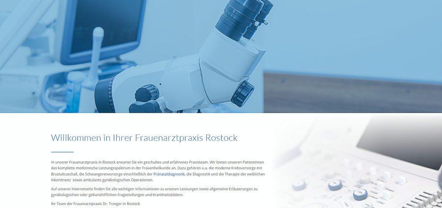 Frauenärztin Dr. Troeger in Rostock, Ihre Frauenarztpraxis.