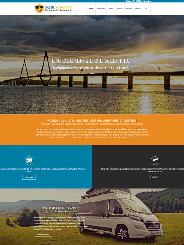 Webdesign und Internetseiten erstellen in Rostock