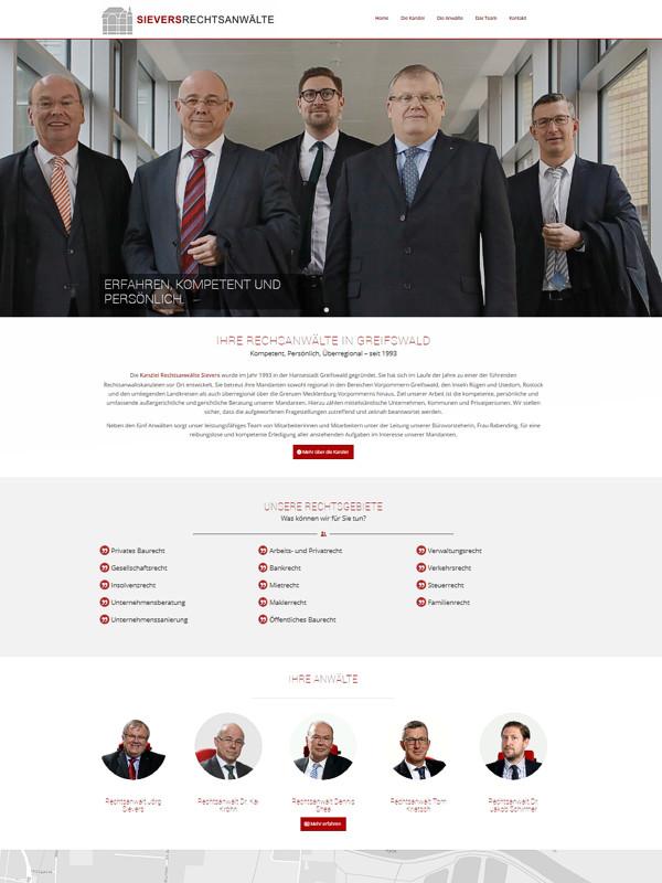 Internetseite erstellen Greifswald