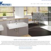 Internetseite der Firma Kobrow in Rostock