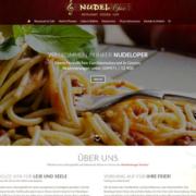 Neues Webdesign für die Gnoiener Nudeloper.
