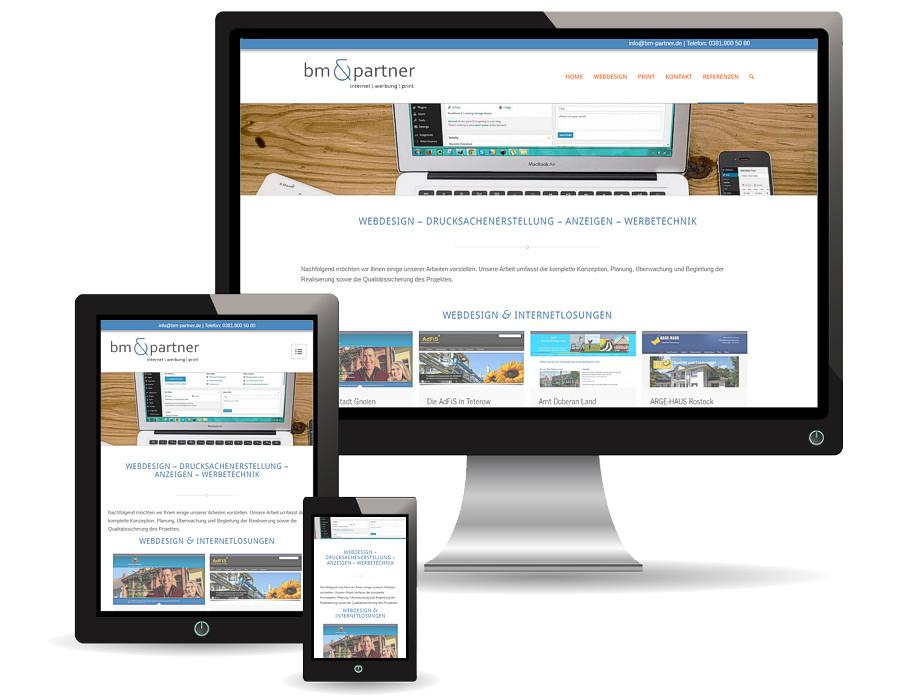 Wir stellen Ihre Seiten auf modernes Design um